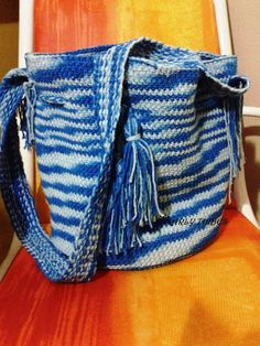 MARLY THIBES: BOLSA CROCHE TAPESTRY