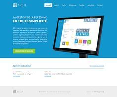 ARCH - idéveloppement : création de site internet bordeaux #webdesign #frontend #backend
