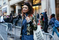 Marie Meyer Street Style - Couture Week SS16 Paris