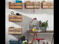 Ideas de muebles reciclados con todo tipo de materiales http://ini.es/1wR2SwD #IdeasDeDecoración, #MobiliarioReciclado, #MueblesReciclados