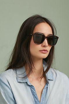 59cfaa2a50 Le Specs Entitlement Cat-Eye Sunglasses