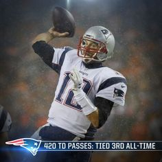 #Brady has now tied Dan Marino for 3rd most TD passes all-time #Patriots