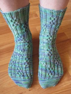 These socks are ribbed from cuff to insole and offer a wide variety of size options.