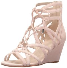 8dcdb87660eea9 Kenneth Cole New York Women s Dylan Wedge Sandal. Caged upper on wedge. Women s  Shoes