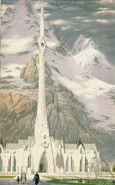Ted Nasmith: At the Court of the Fountain