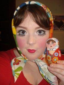 mirrors of matryoshki matryoshka dress up nesting doll costumes halloween - How To Make A Doll Costume For Halloween
