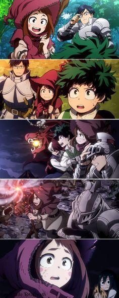 Boku no Hero Academia 2nd Season || Ending [ Uraraka Ochako, Tenya Iida, Midoriya Izuku, Katsuki Bakugou, Todoroki Shouto, Tsuyu Asui.