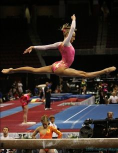 While dancers are just as amazing, I would love to be a gymnast. They're so strong.