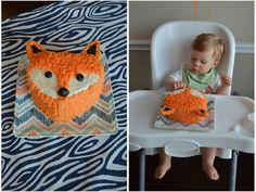 Project Nursery - Fox Birthday Cake