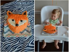 Project Nursery - Fox Birthday Cake