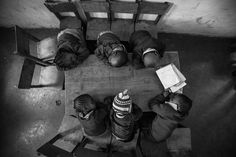 I went to Nairobi to shoot a film for an NGO. During our shoot at a school in Mathare slum, I took shelter from the heat and chaos in a school, and stumbled upon these sleepyheads. I put my camera on my monopod, self-timer mode, and held it up high. (© Joe Saade/National Geographic Traveler Photo Contest)