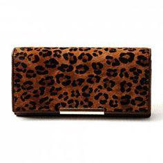 $17.16 Monedero del Embrague con Diseño de Metálico y Impresión de Leopardo