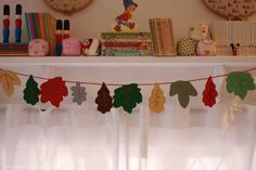 Leaf Garland. So adorable.