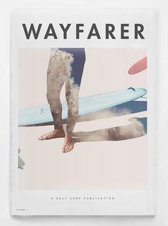 Wayfarer Magazine from Brooklyn based surfboard company, Salt Surf.