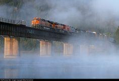 RailPictures.Net Photo: BNSF 7394 BNSF Railway GE ES44DC at Noxon, Montana by Mike Danneman