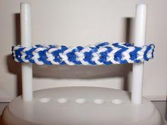 Kleenis bunte Seite: Loom Bands - umgedrehtes Fischgrätenarmband