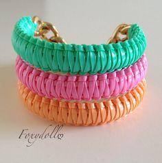 Foxy Minis 3 Bracelets by Foxydoll on Etsy, $22.00