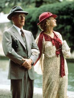 """Uffner Vintage clothes on Paul Newman and Joanne Woodward in the film """"Mr. & Mrs. Bridge"""""""
