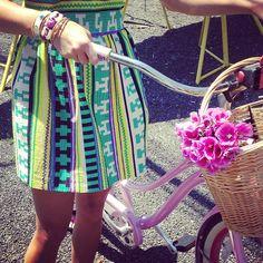 instagramstylesnoop:  ashabyadm/source Dress: MSGM