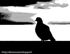 dilettante artist: Black Bird