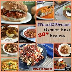 Pound of Ground Recipes | Aunt Bee's Recipes