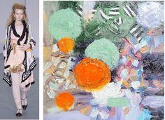 Splash Connect: Ryan Lo - Spring 2016 Ready-to-wear - Palette Splash - Black / White / Pale Green / Lilac / Orange / Apricot / Beige Spring 2016, Lilac, Connect, Ready To Wear, Runway, Palette, Beige, Style Inspiration, Black And White