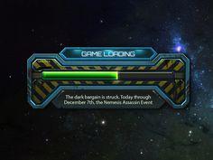 Sci-Fi game loading. by Mitya Neradzinsky for KELPie Studio