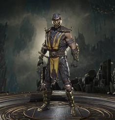 Scorpion Mortal Kombat, Mortal Kombat 9, Johnny Cage, Liu Kang, Fantasy Character Design, 3d Character, Kung Lao, Rambo, Mileena