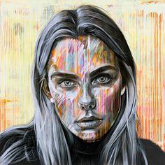 Website of London based artist Ant Carver Abstract Portrait, Portrait Art, Portraits, A Level Art Final Piece, A Level Art Sketchbook, Sketchbook Layout, Identity Artists, Contemporary Art Artists, Dark Art Illustrations