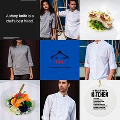 F&L Catering Suppliers where the chef is always right. The number one place for unique chef attire with attitude. High quality and delivered straight to your door. Long sleeve, short sleeve chef jacket. Mens, Womens, & Unisex Chef jackets, Chef trousers, chef hats & aprons.New fashion chef jackets for best chefs in 2020. Summer Sale Up To 30%Off Sgin Up Today Get 20% Off Chef Hats, Food Stall, Best Chef, How To Get Rich, Summer Sale, Aprons, Street Food, Chefs, Catering