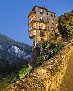 The Hanging Houses of Cuenca, Spain  - Cuenca is/was one of my most favorite places in the world...and the museum.