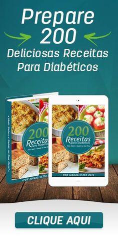 e-Book 200 Receitas para Diabéticos