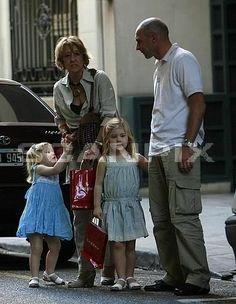 Dutch Princesses Amalia, Ariana and grandmother and ?.