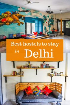 Best hostels in Delhi: good areas, clean, safe, well connected, close to the public transport spots. India Travel Guide, Asia Travel, Solo Travel, Travel Guides, Travel Tips, Travel Hacks, Budget Travel, Europe Budget, Travel Plan