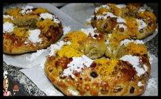 Bagel, Algarve, Bread, Chicken, Sugar, Holidays, Fast Recipes, Other Recipes, Yummy Recipes