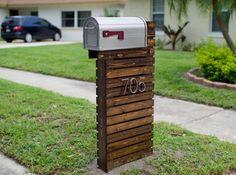 modern mailbox ideas. How To Make An Amazing Wooden Mailbox Modern Ideas A