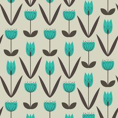Garden pattern. By trois miettes on Flickr.