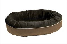 How's this for an eco dog bed -- diverts up to 30 soda bottles from landfills. By Bowsers.