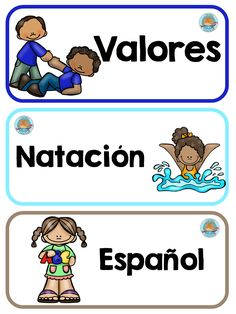 To Learn Spanish Kids How To Learn Spanish Kids Activities Preschool Classroom Labels, Bilingual Classroom, Classroom Routines, Art Classroom, Classroom Themes, Classroom Organization, Daily Routines, Learn Spanish Free, Learning Spanish For Kids