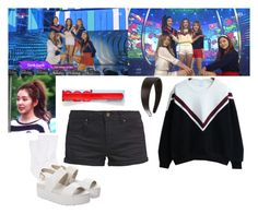 Red Velvet - Dumb Dumb by marissa-malik on Polyvore featuring polyvore fashion style TWINTIP Hue Windsor Smith Marc Jacobs clothing