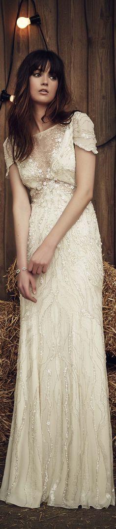 Jenny Packham bridal spring 2017                                                                                                                                                                                 More
