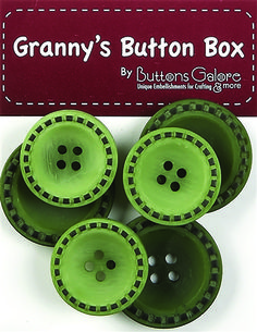 Vintage buttons from Button Galore and distributed by Hantex