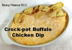 Crock-pot Buffalo Chicken Dip Recipe - Busy Mama 911