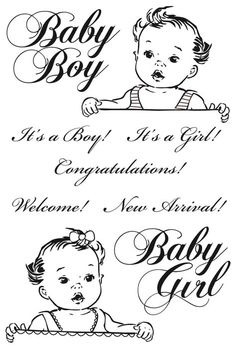 Kaisercraft - Bundle of Joy Collection - Clear Acrylic Stamp - New Arrival at Scrapbook.com $5.99