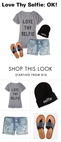 """""""Love Thy Selfie"""" by americaneagleoutfitters ❤ liked on Polyvore featuring American Eagle Outfitters"""