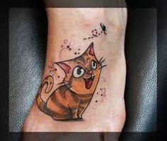 Výsledek obrázku pro bat cat tattoo