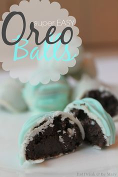 Put A Bird On It: Super Easy Oreo Balls Recipe .. Guest Post by Mary of Eat Drink & Be Mary