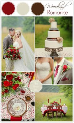 fall wedding color palettes