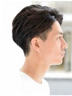 hair man cut Asian