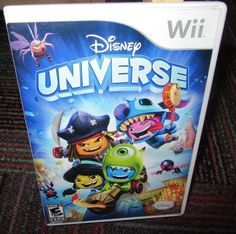 DISNEY: UNIVERSE GAME FOR NINTENDO Wii, CASE, GAME & MANUAL, TEAM UP & BATTLE